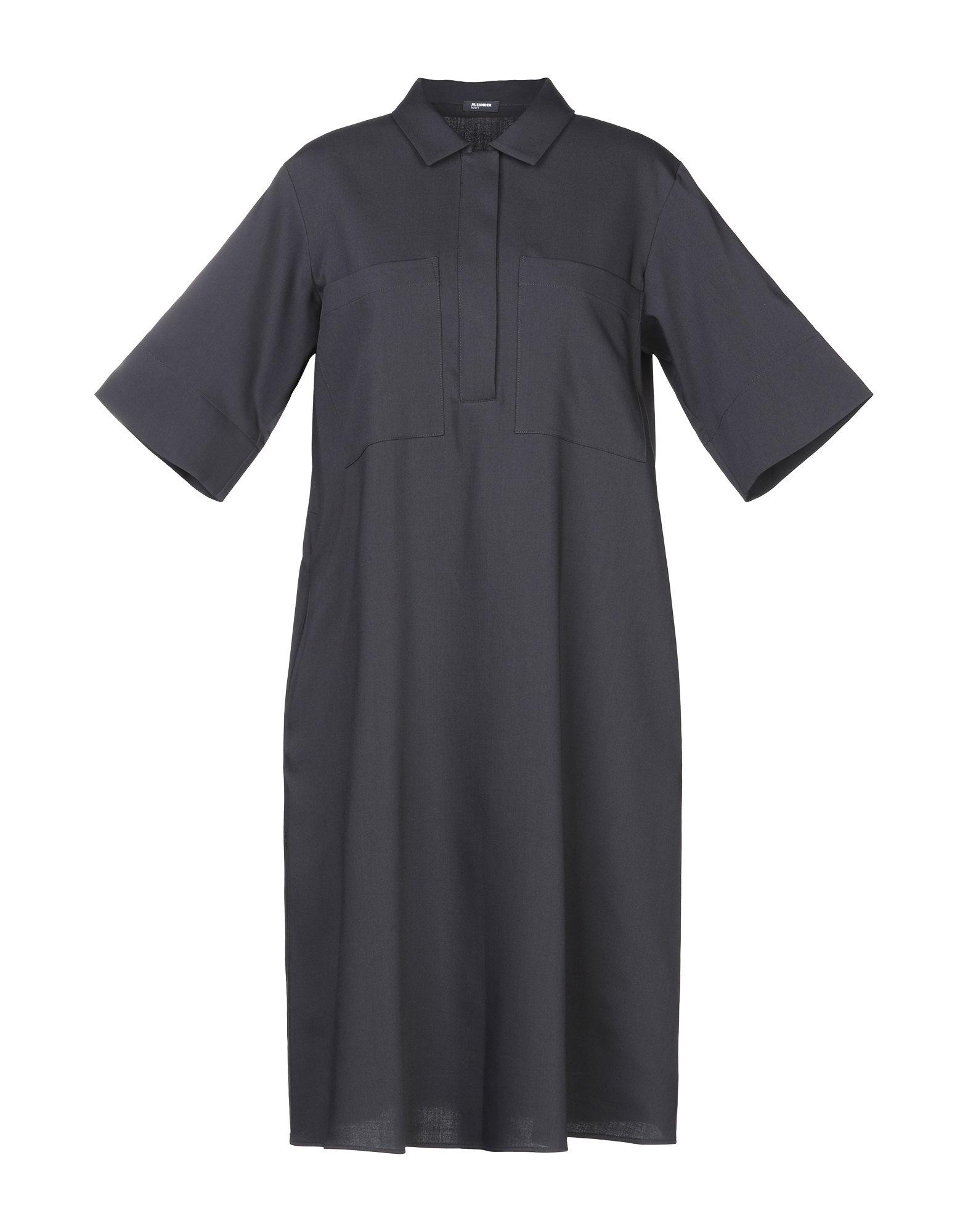 JIL SANDER NAVY Платье до колена