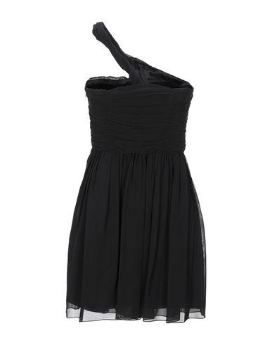 Фото 2 - Женское короткое платье CARLA G. черного цвета