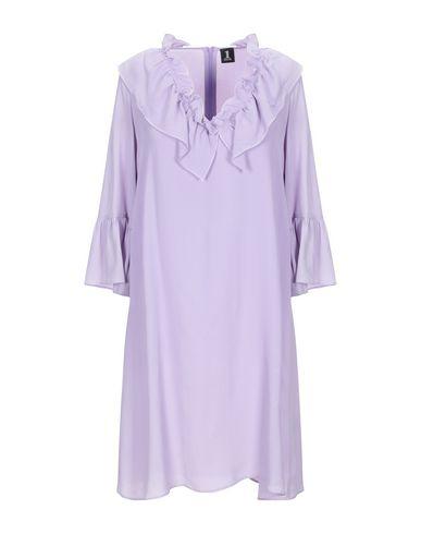 Фото - Женское короткое платье  сиреневого цвета
