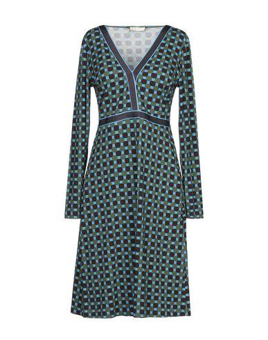 Купить Женское короткое платье SIYU зеленого цвета