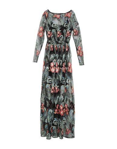 Фото - Женское длинное платье KORALLINE черного цвета