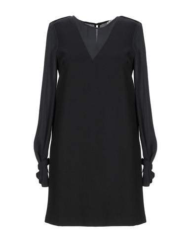 Фото - Женское короткое платье KORALLINE черного цвета