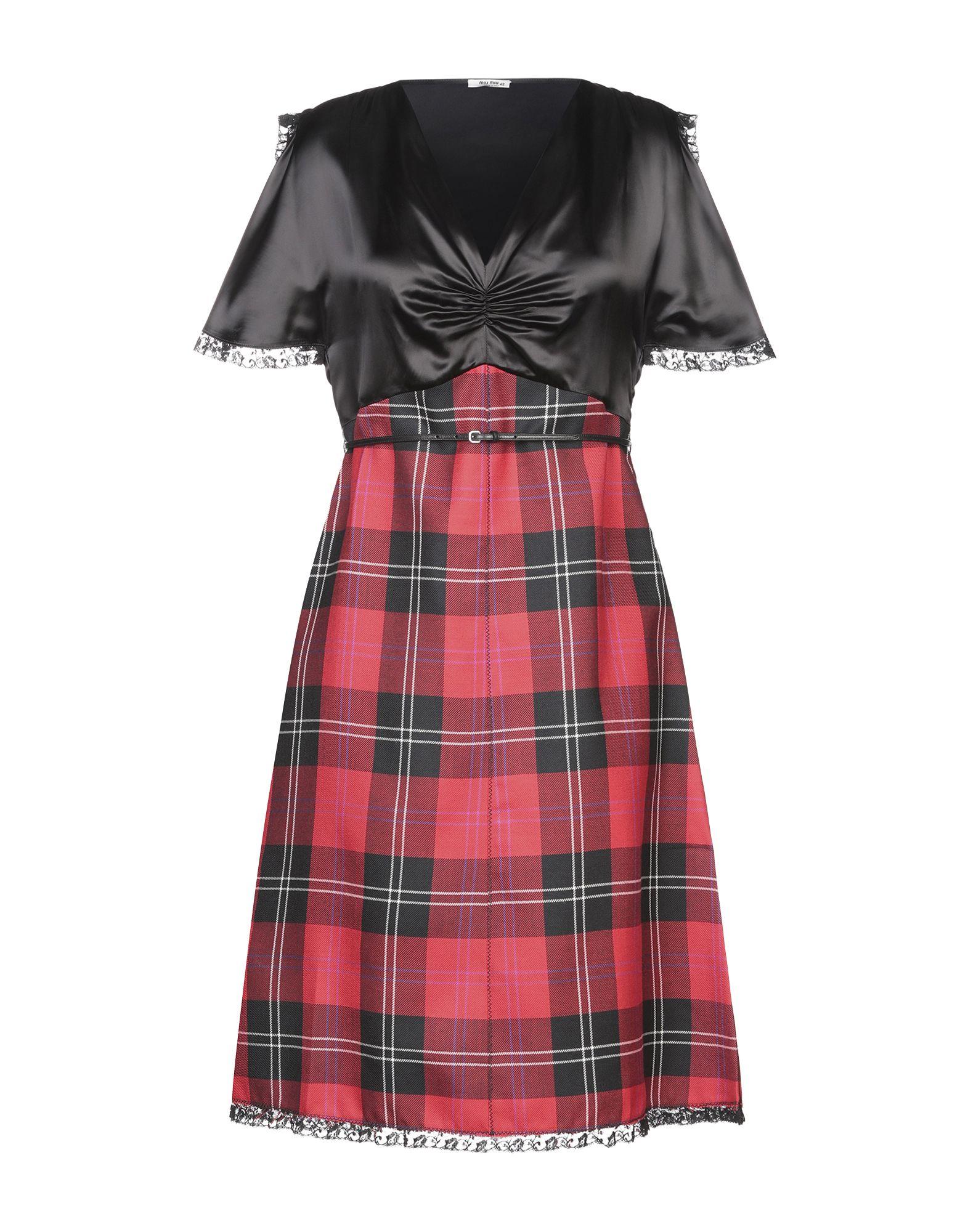 MIU MIU Платье до колена цена