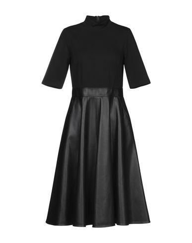 Фото - Платье до колена от MARELLA SPORT черного цвета