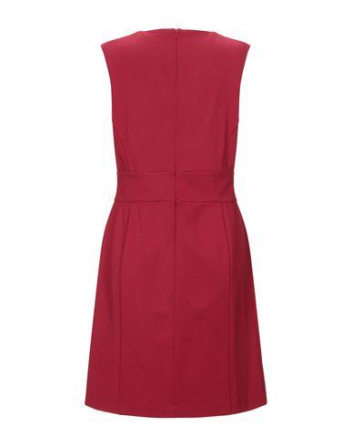 Фото 2 - Женское короткое платье LUCKYLU  Milano красного цвета