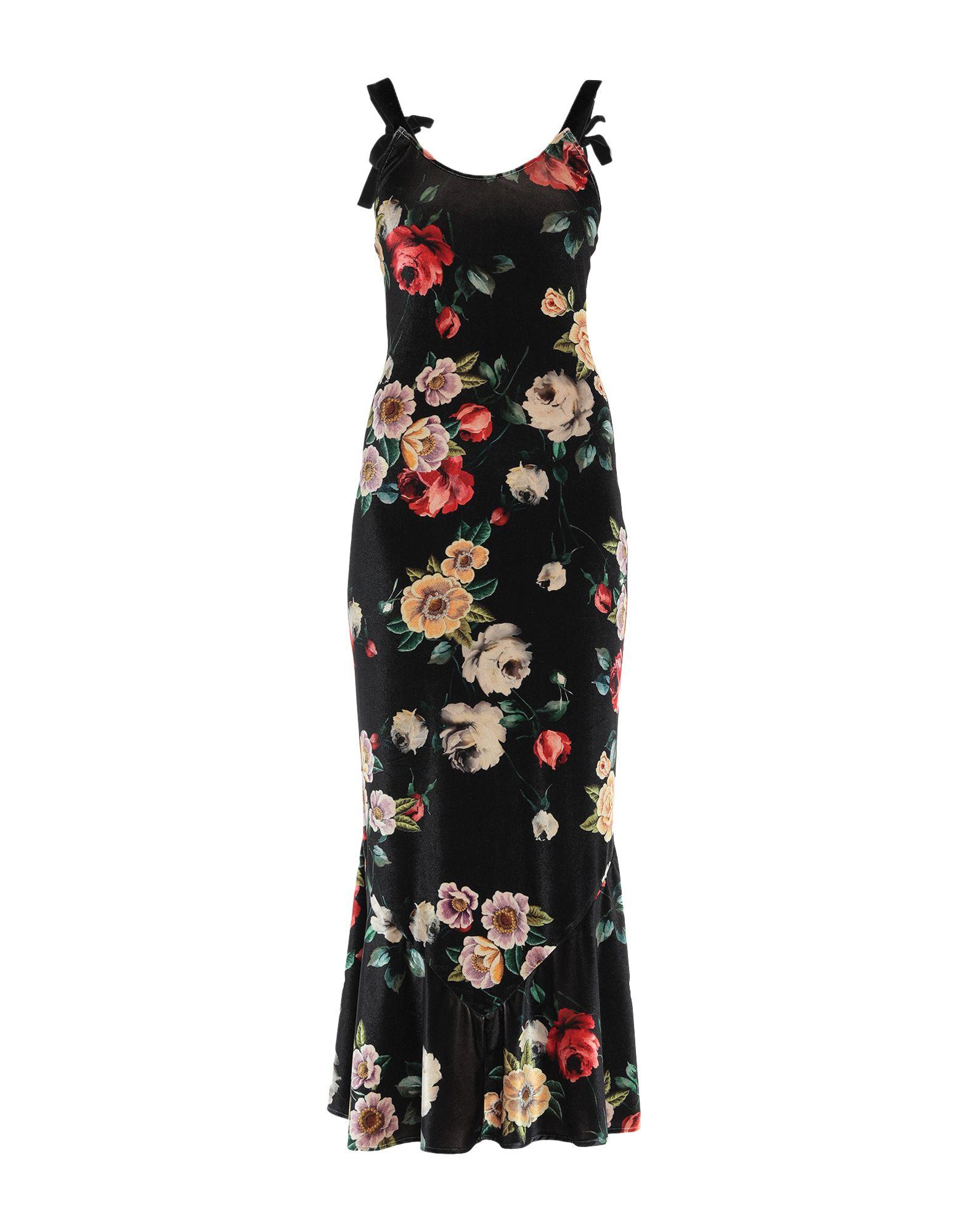 ATTICO Длинное платье attico длинное платье