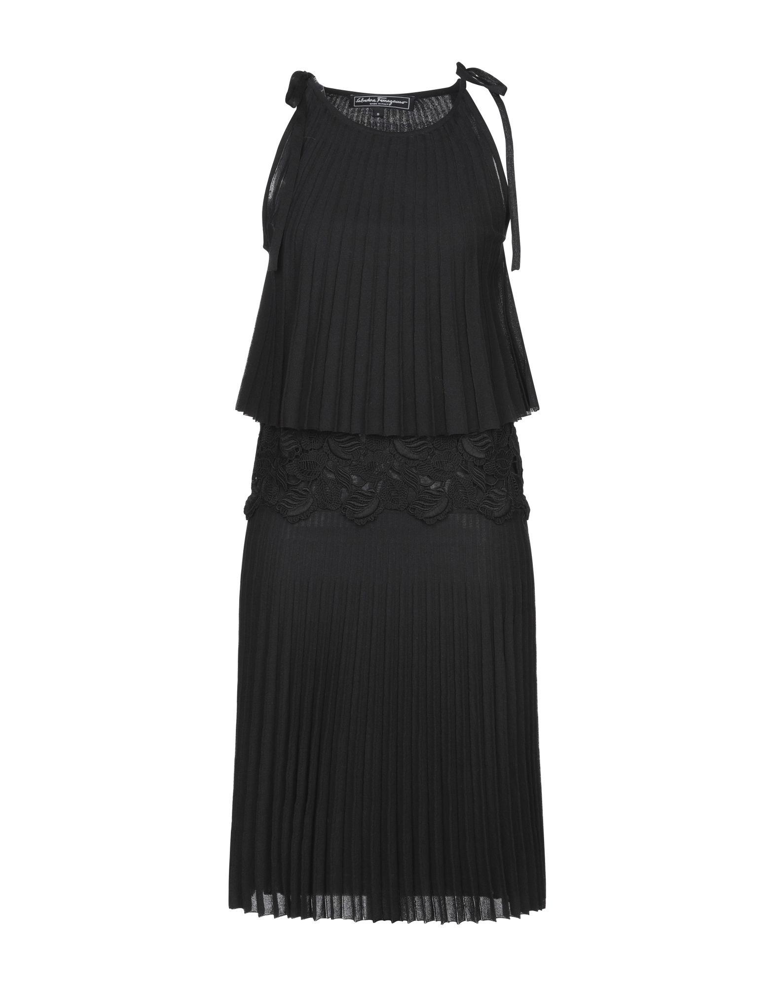 купить SALVATORE FERRAGAMO Платье до колена по цене 55050 рублей
