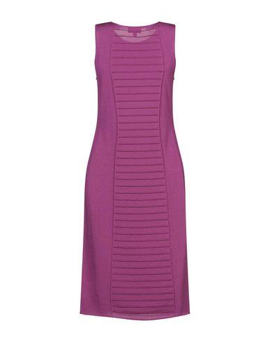 Фото 2 - Платье до колена цвет пурпурный
