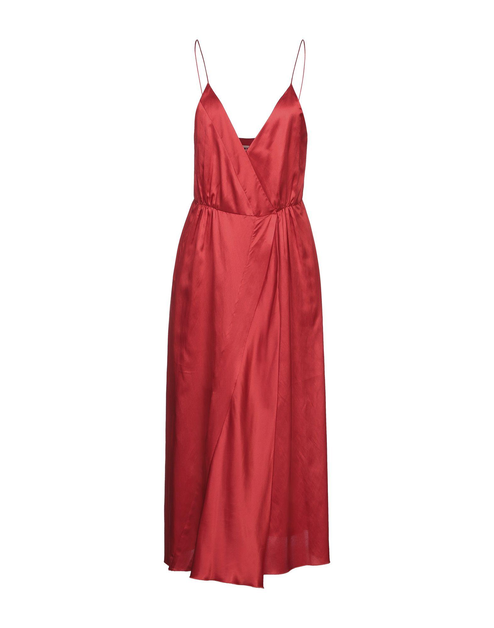 MASSCOB Платье длиной 3/4 masscob ремень