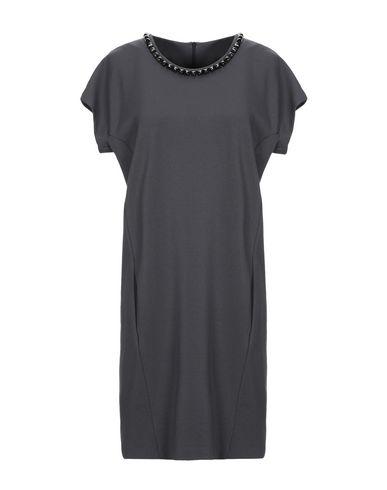 Купить Женское короткое платье BLUE LES COPAINS серого цвета