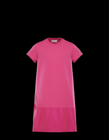 DRESS Fuchsia Kids 4-6 Years - Girl Woman