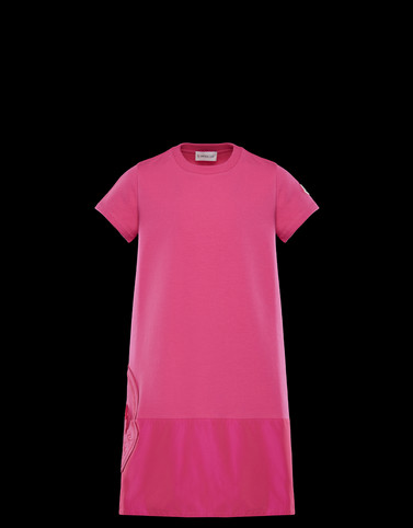 DRESS Fuchsia Junior 8-10 Years - Girl Woman