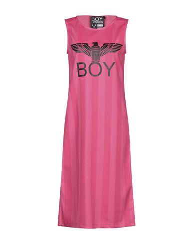 Фото - Платье до колена от BOY LONDON цвета фуксия