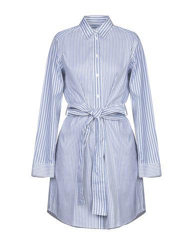 Купить Женское короткое платье  лазурного цвета