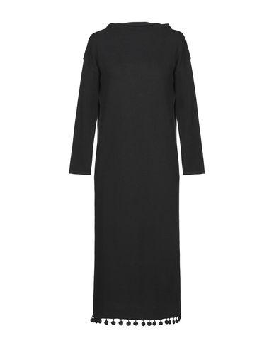 Фото - Платье длиной 3/4 от WEEKEND MAX MARA черного цвета