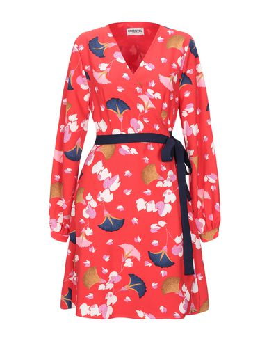 Фото - Женское короткое платье ESSENTIEL ANTWERP красного цвета