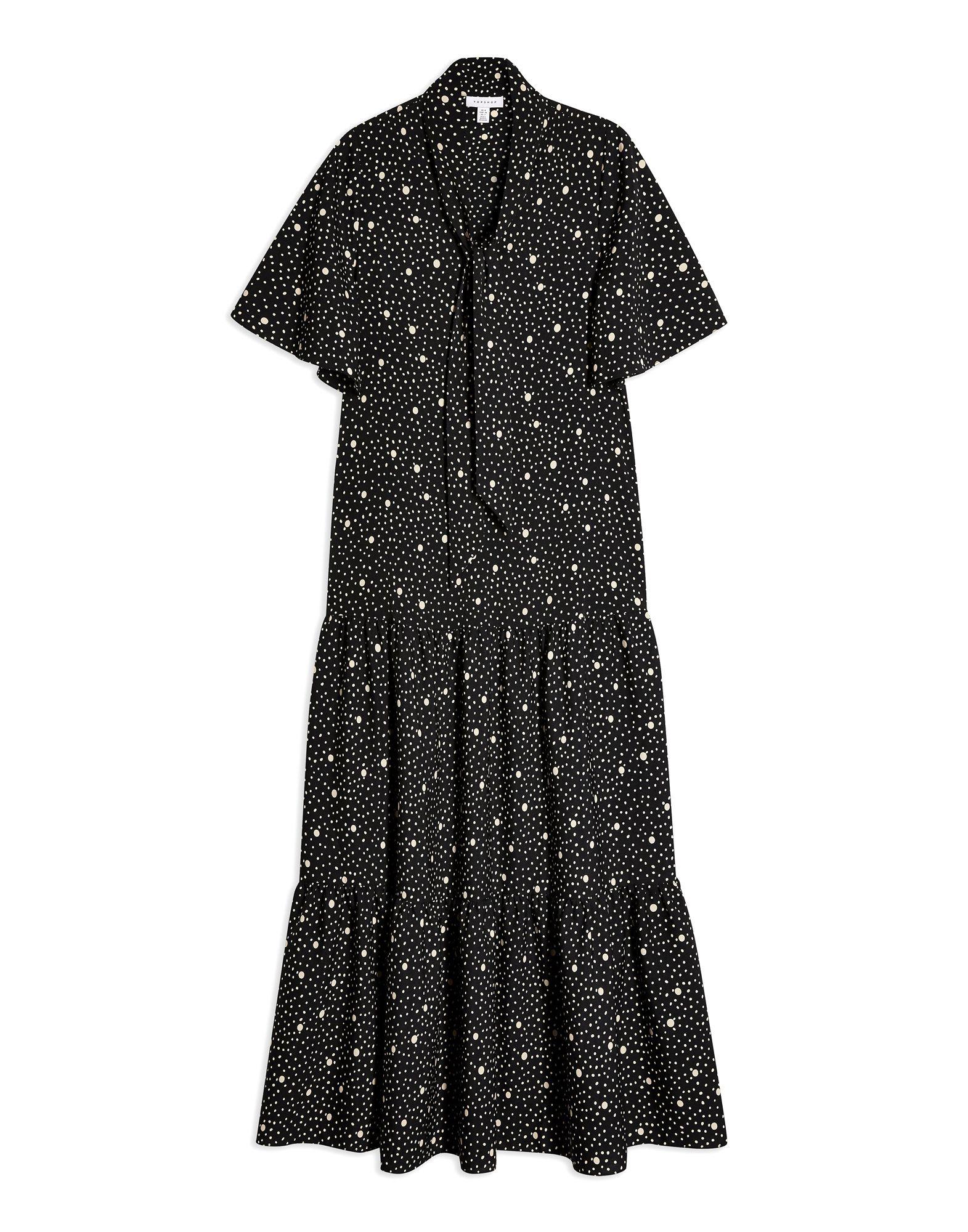 TOPSHOP Платье длиной 3/4 джинсы topshop topshop to029ewcimk2