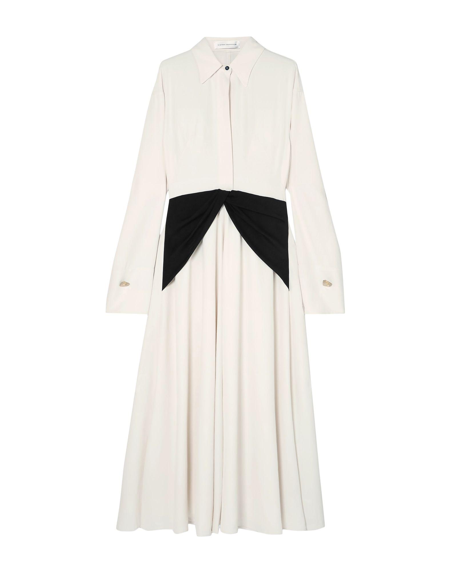 VICTORIA BECKHAM Длинное платье