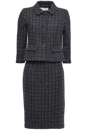 MIKAEL AGHAL Metallic tweed skirt suit