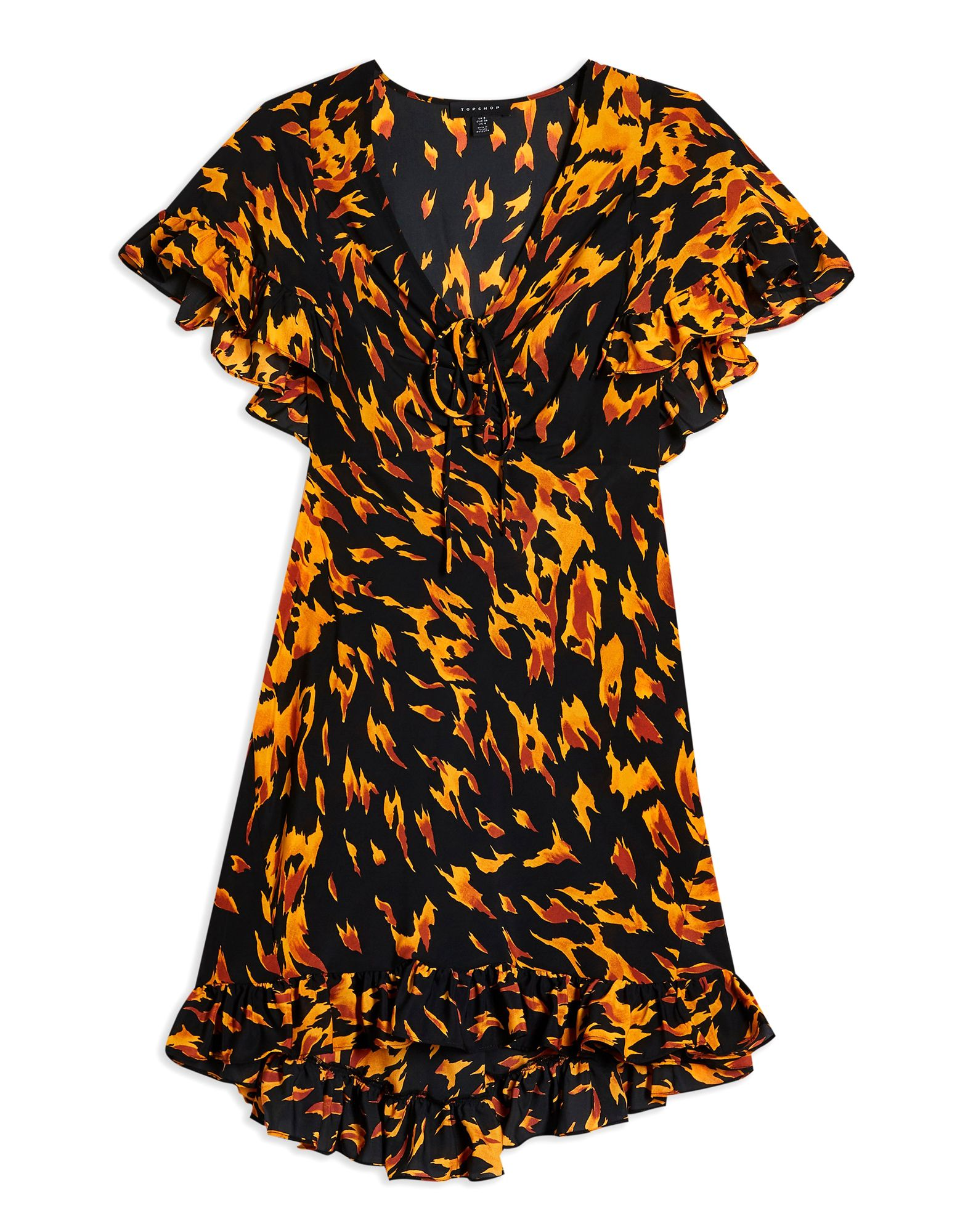 TOPSHOP Короткое платье платье topshop topshop to029ewfstv8