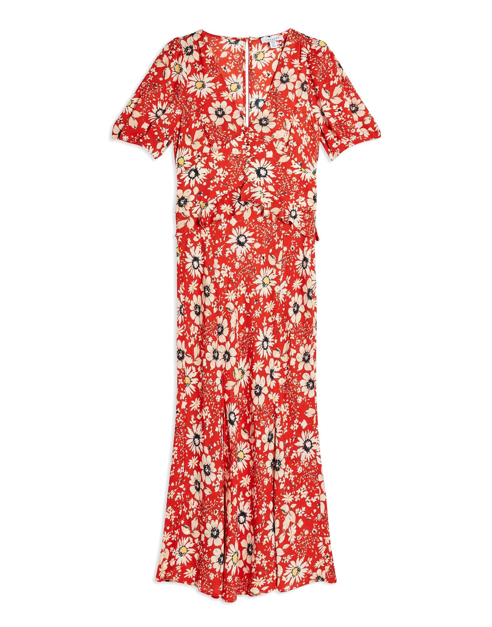 TOPSHOP Длинное платье платье topshop topshop to029ewwyk15