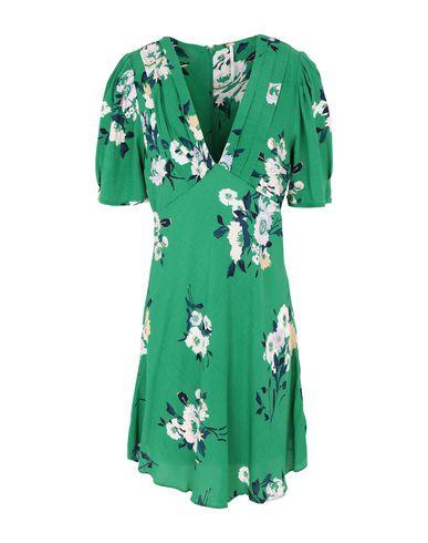 Купить Женское короткое платье  зеленого цвета