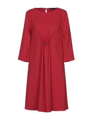 Купить Платье до колена от BLUE LES COPAINS красного цвета
