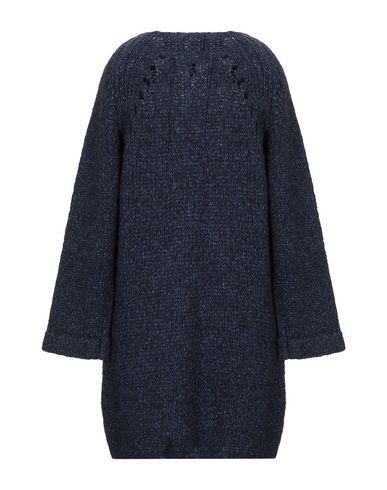 Фото 2 - Женское короткое платье HUMANOID темно-синего цвета