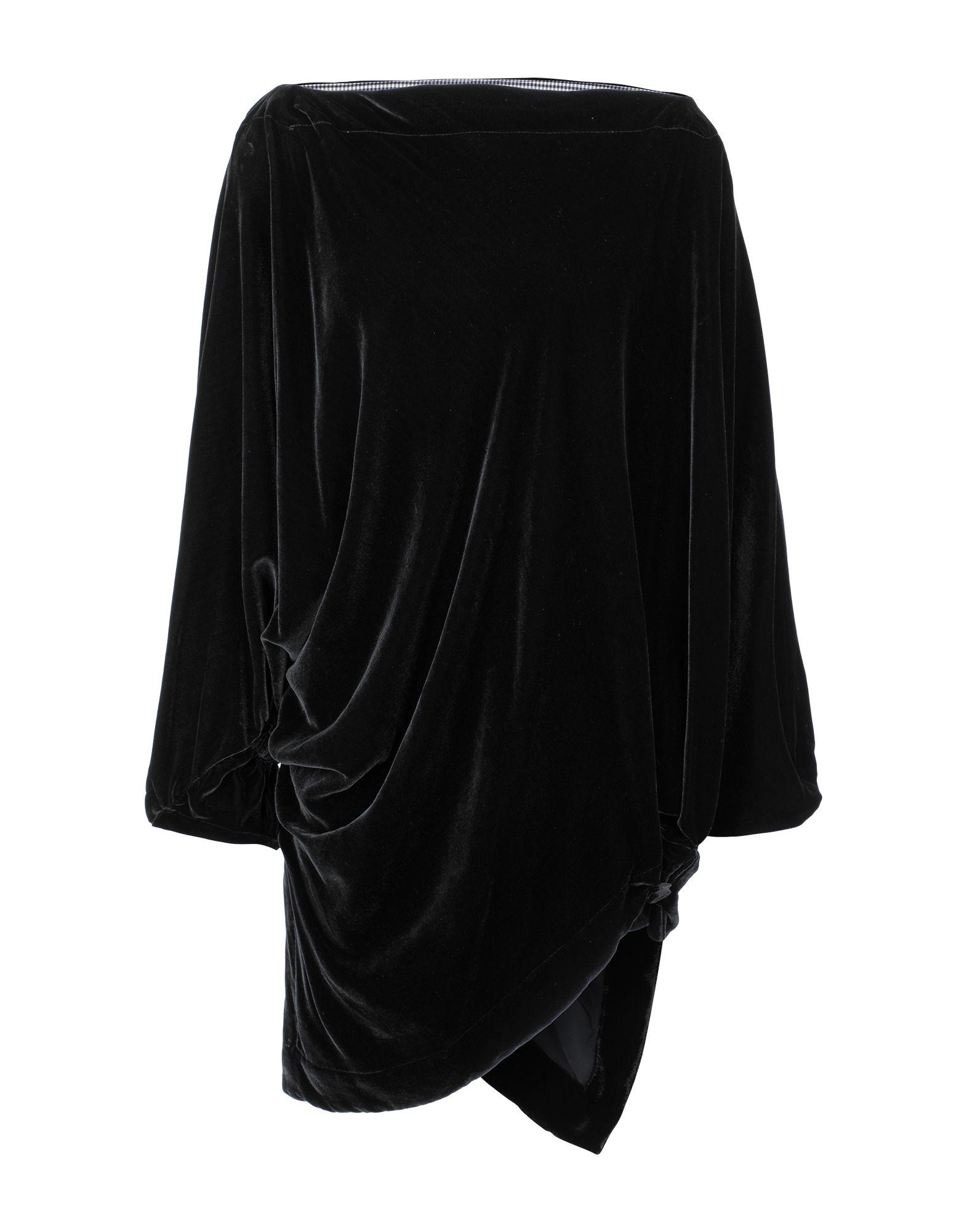 VIVIENNE WESTWOOD ANGLOMANIA Короткое платье джинсы vivienne westwood anglomania vivienne westwood anglomania vi989ewfwer3