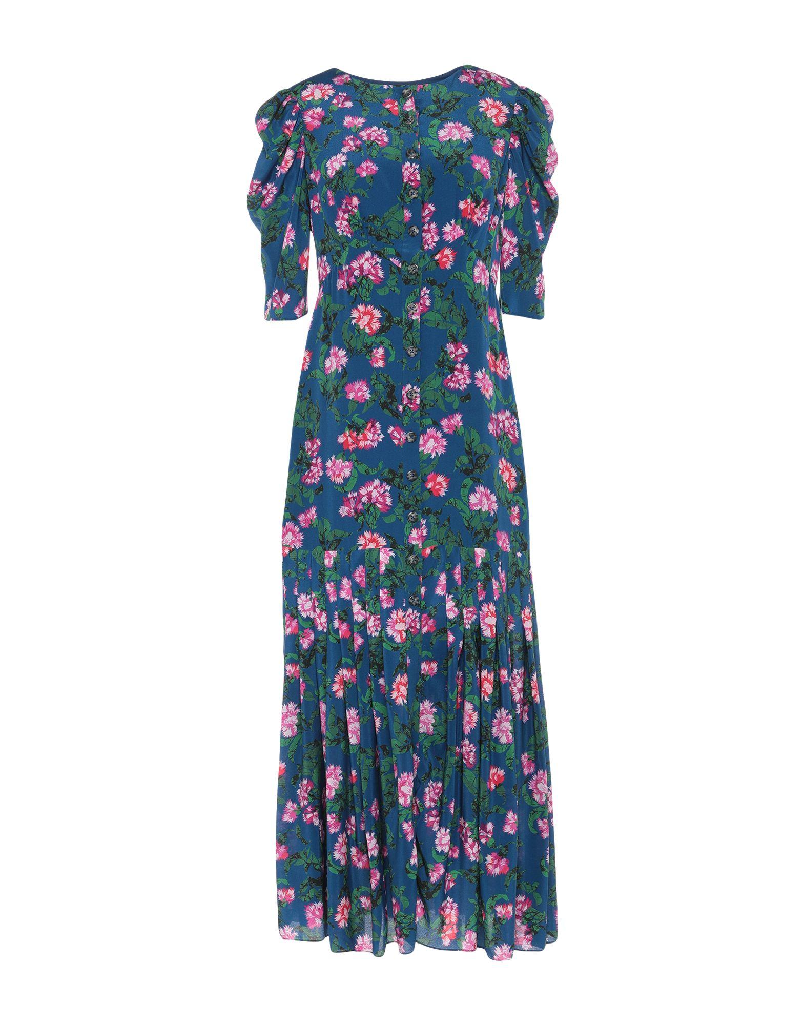 SALONI Платье длиной 3/4 saloni юбка длиной 3 4