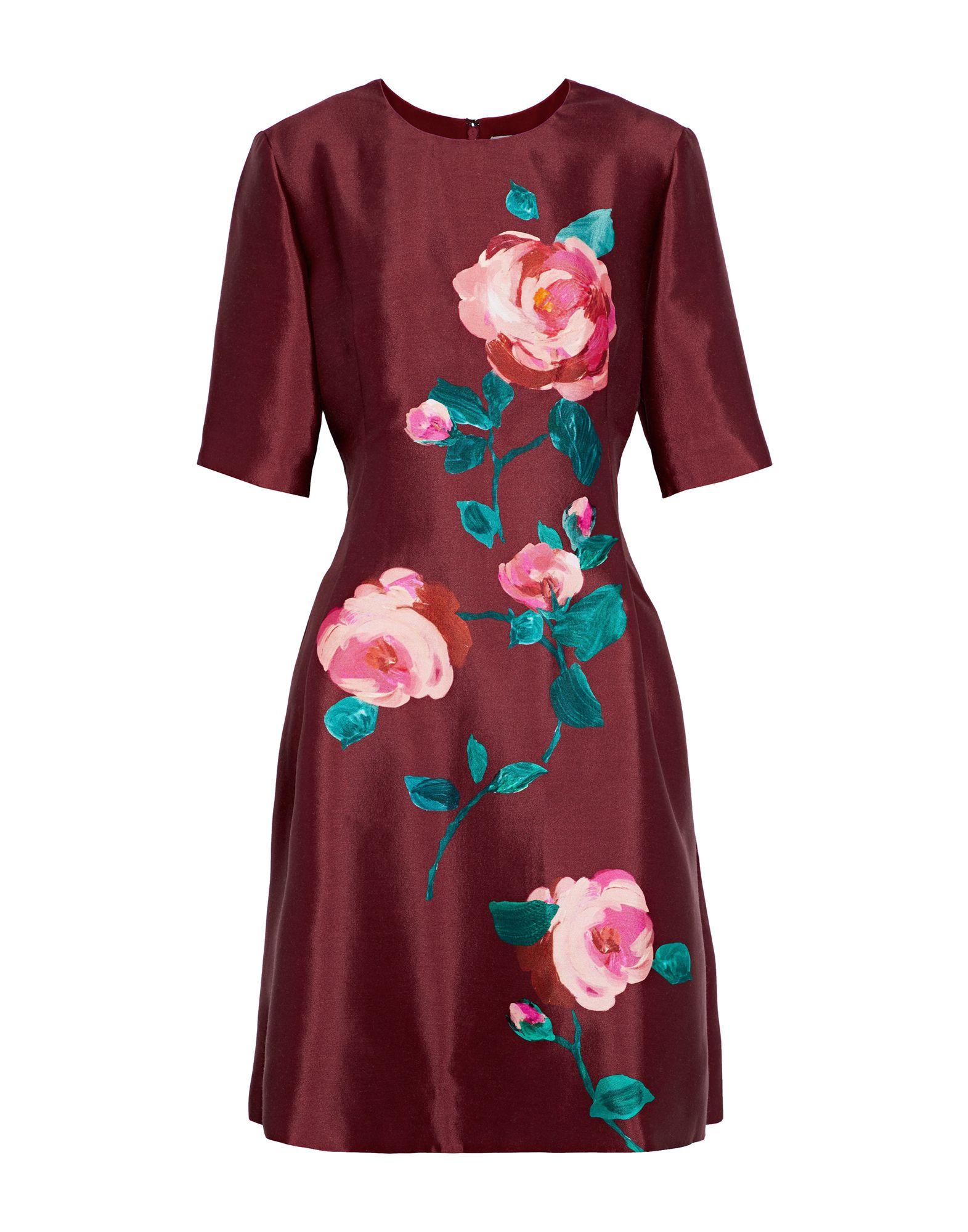 LELA ROSE Короткое платье