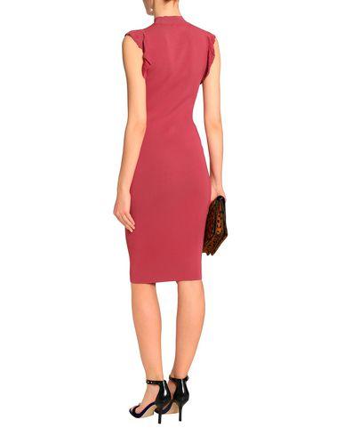 Фото 2 - Женское короткое платье BAILEY 44 пастельно-розового цвета