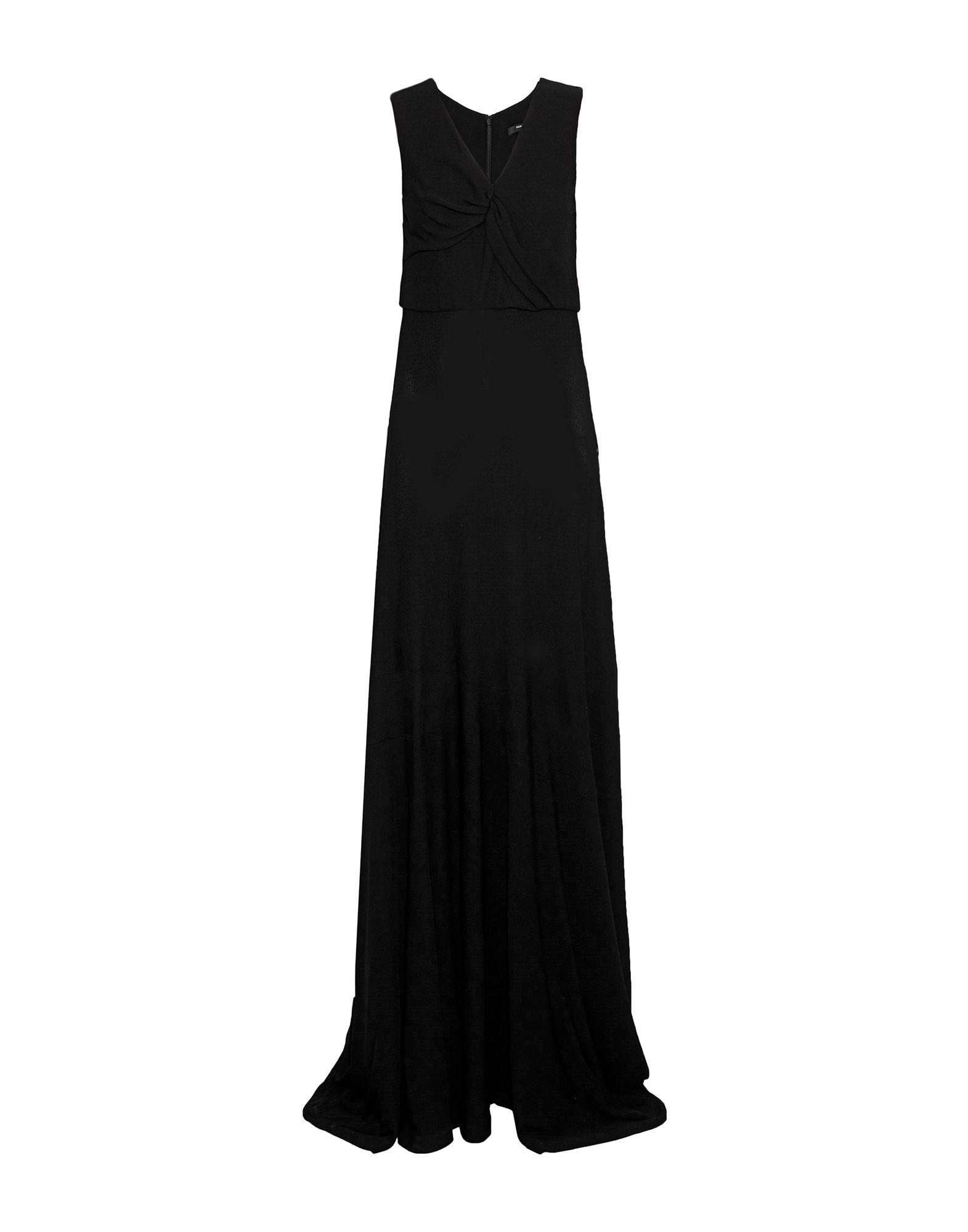 купить DEREK LAM Длинное платье по цене 67650 рублей