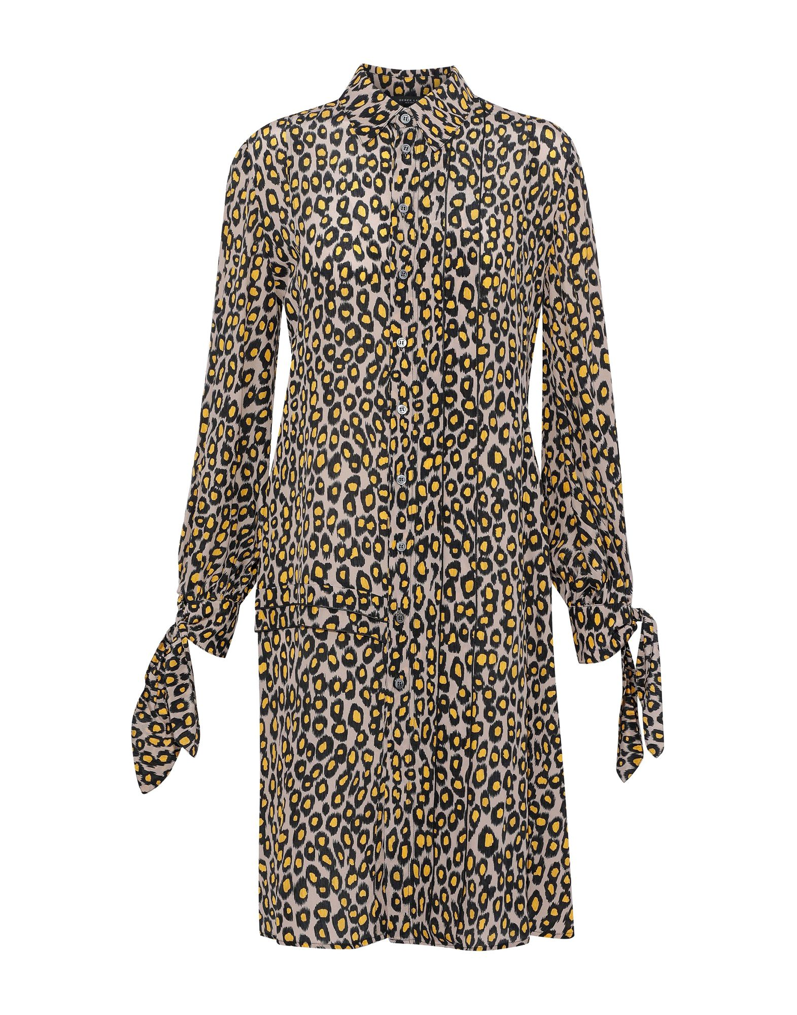 купить DEREK LAM Короткое платье по цене 45850 рублей