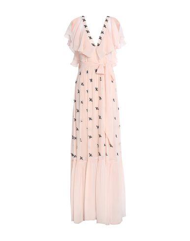 Фото - Женское длинное платье  розового цвета