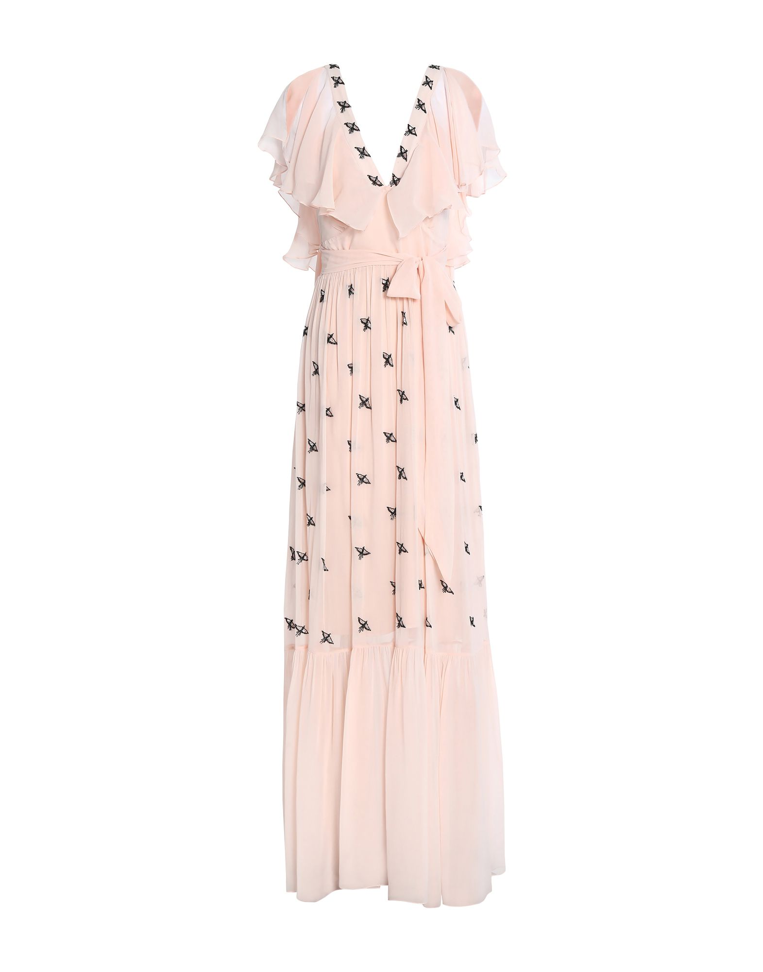 TEMPERLEY LONDON Длинное платье temperley london бермуды
