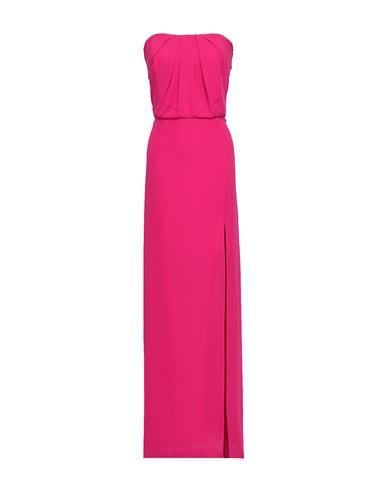 Купить Женское длинное платье  цвета фуксия