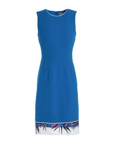 Купить Женское короткое платье  синего цвета
