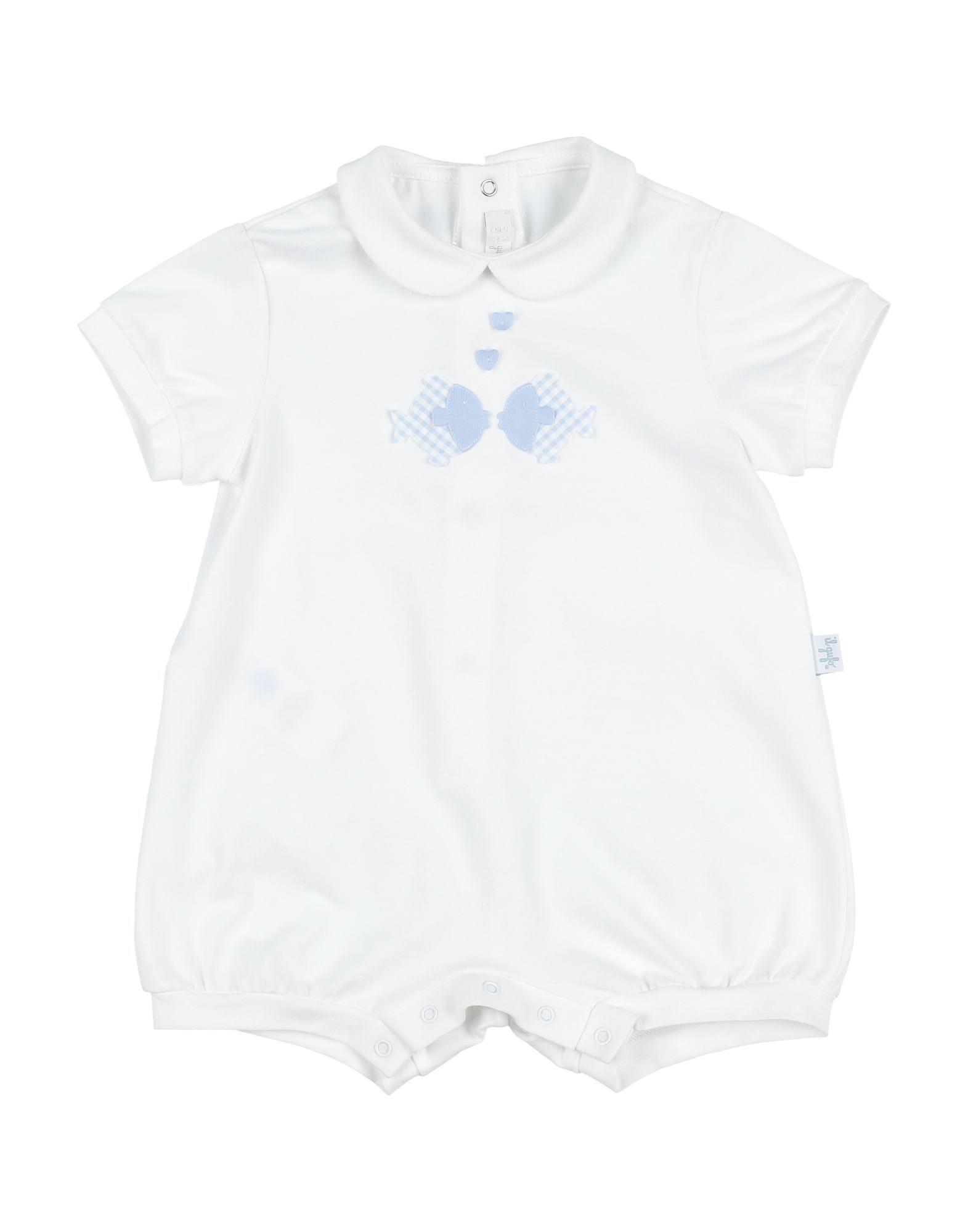 YOOX.COM(ユークス)《セール開催中》IL GUFO ボーイズ 0-24 ヶ月 乳幼児用ロンパース ホワイト 6 コットン 94% / ポリウレタン 6%