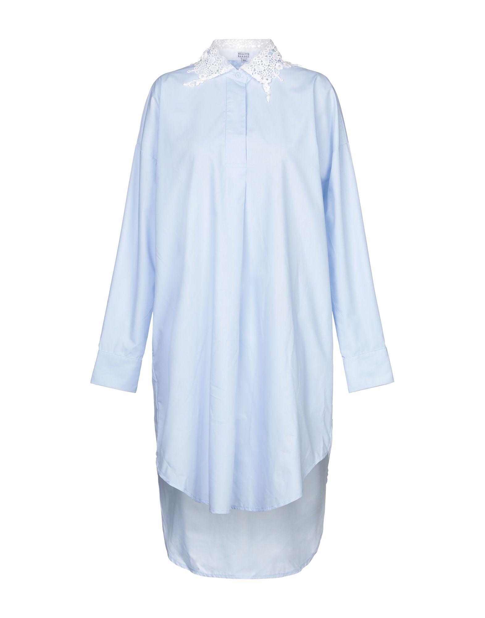 BRIGITTE BARDOT Короткое платье блуза brigitte bardot brigitte bardot br831ewzzi04