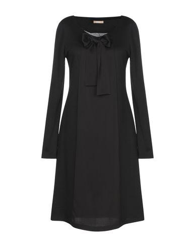 Купить Женское короткое платье ROSSO35 черного цвета