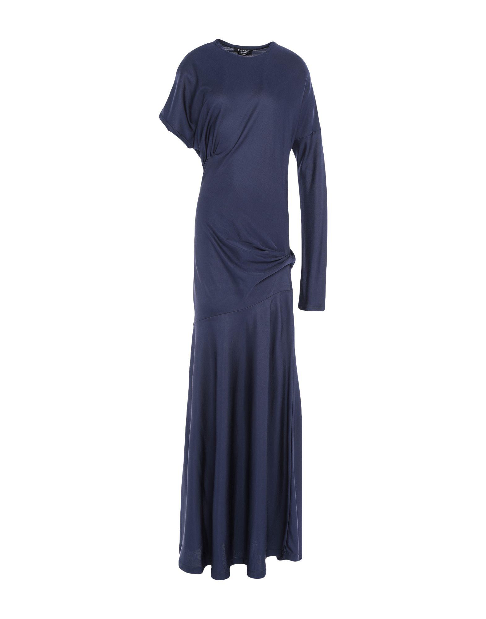CALVIN KLEIN 205W39NYC Длинное платье цена и фото