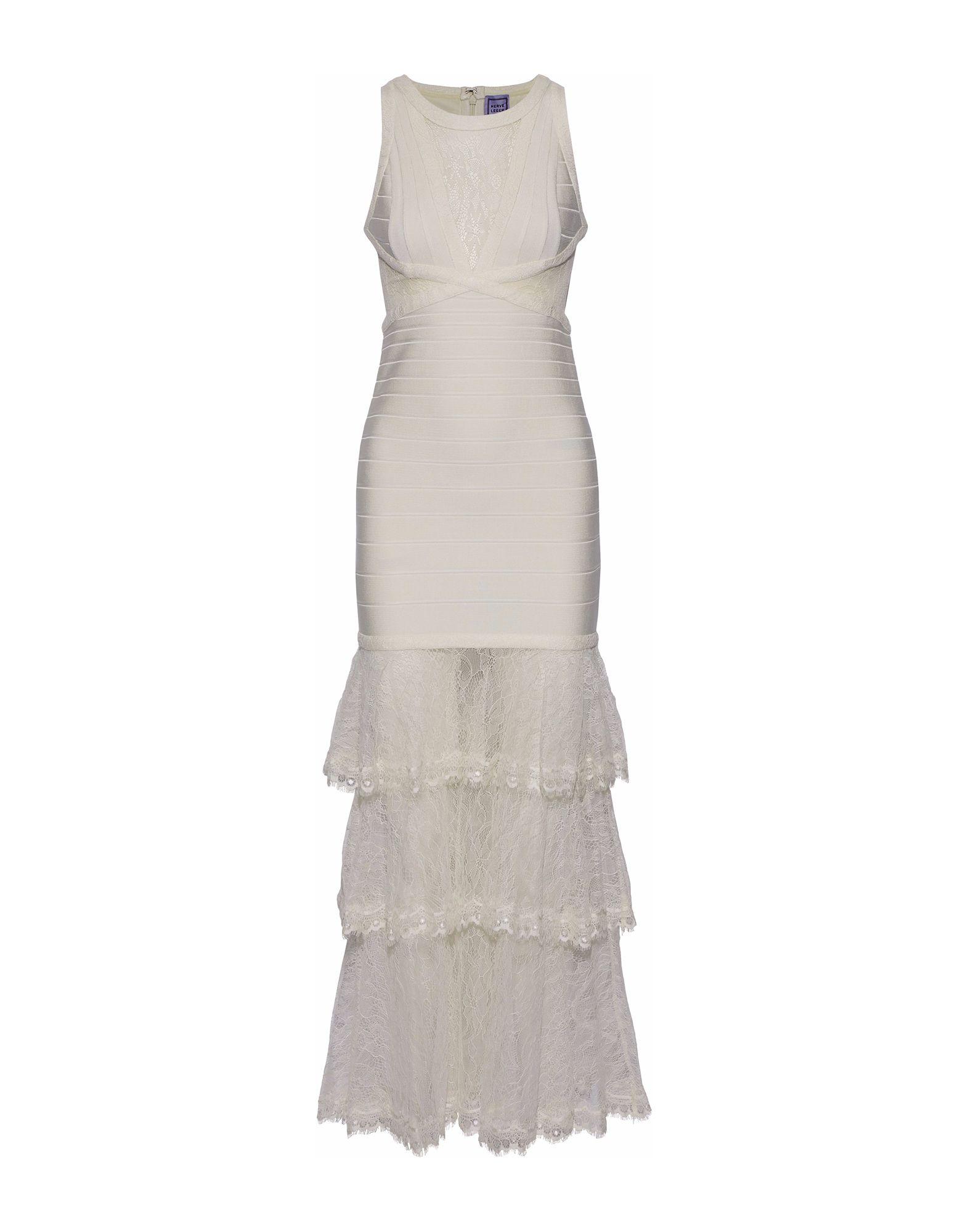 цены на HERVÉ LÉGER Длинное платье  в интернет-магазинах