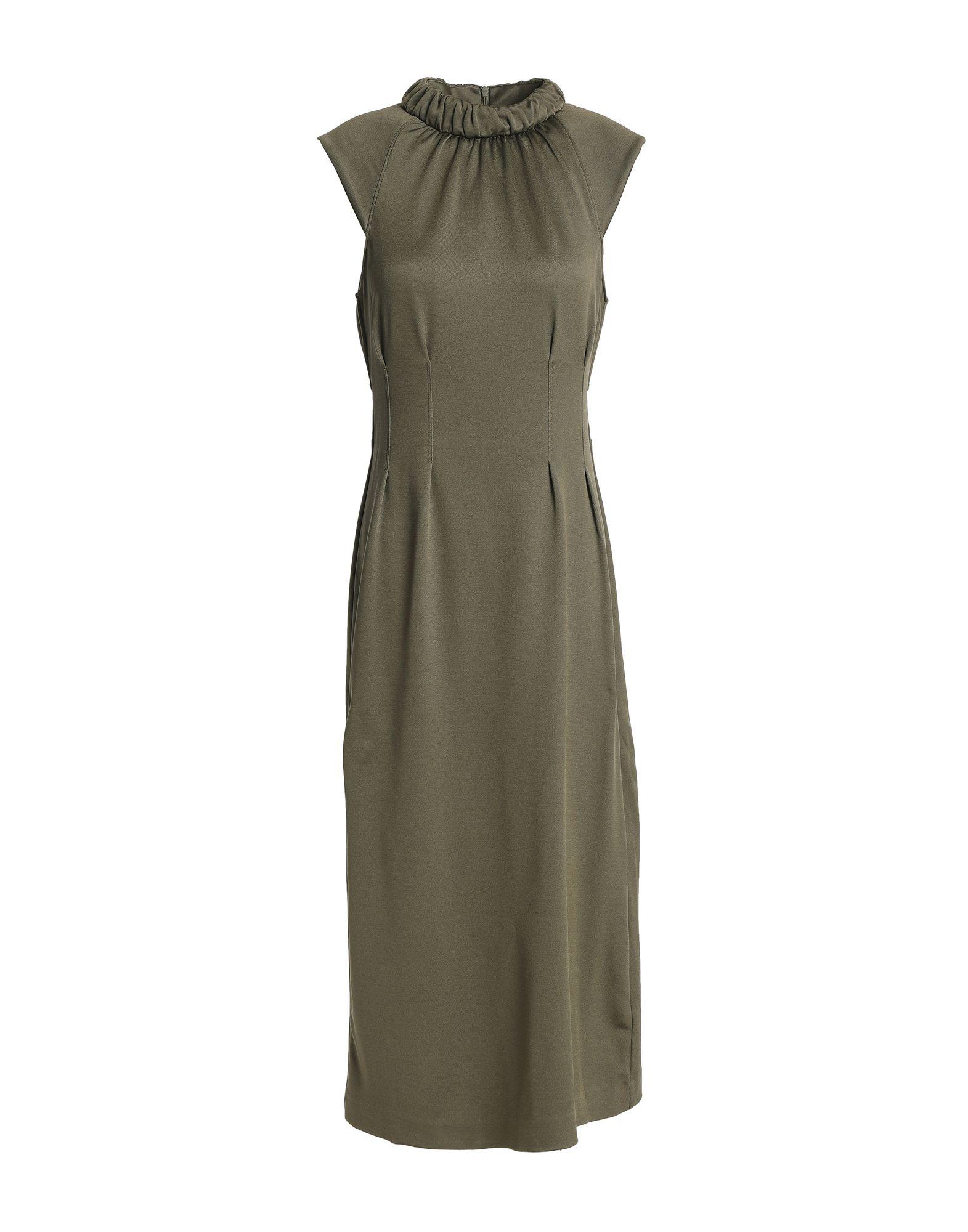 TIBI Длинное платье цены онлайн