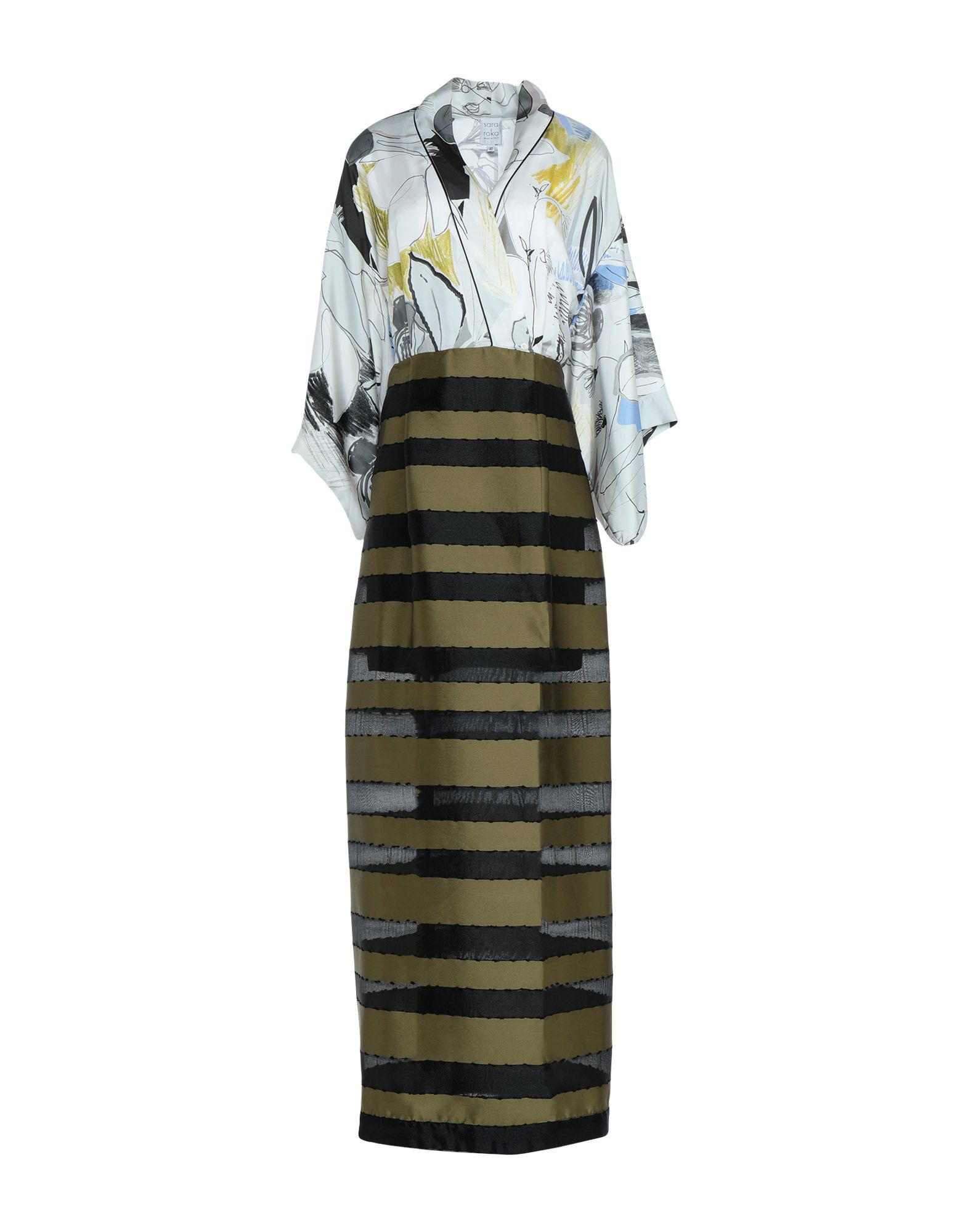 SARA ROKA Длинное платье sara roka платье до колена