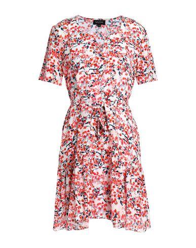 Купить Женское короткое платье SALONI розового цвета