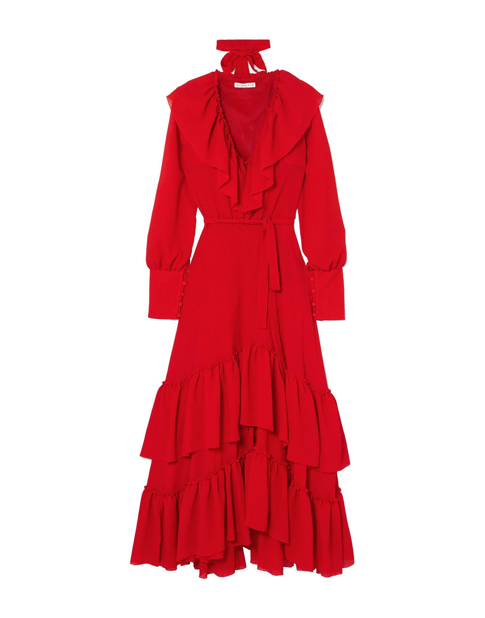 цены на REJINA PYO Длинное платье в интернет-магазинах
