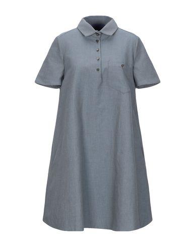 Купить Женское короткое платье BLUE LES COPAINS синего цвета