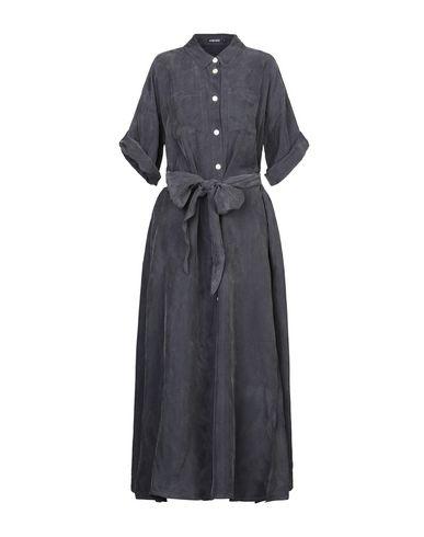 Купить Женское длинное платье 5PREVIEW свинцово-серого цвета