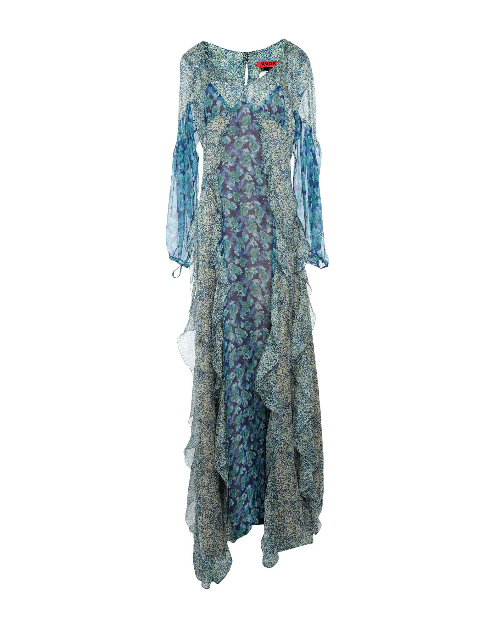 купить RONALD VAN DER KEMP Длинное платье по цене 68500 рублей